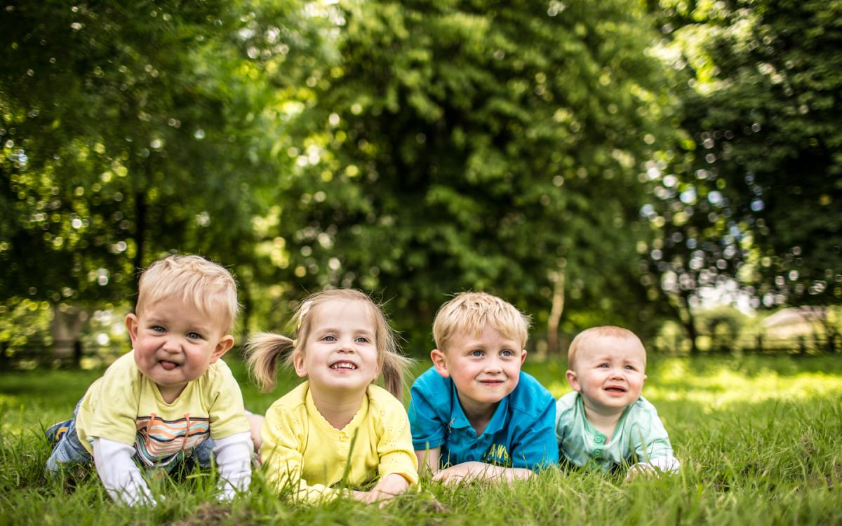 Harry, Heidi, Noah & Freddie