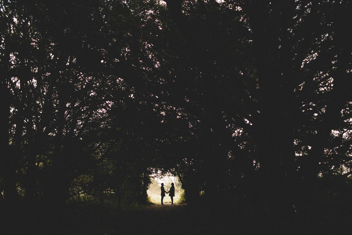 Farley Mount Winchester Engagement Shoot
