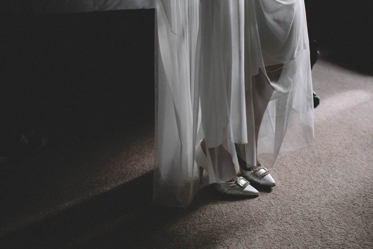 New forest wedding photographer wedding shoe shot