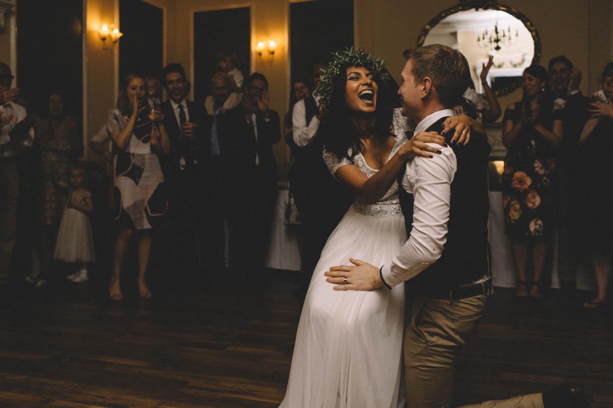 New forest wedding photographer first dance