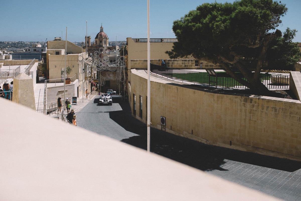 Gozo Malta Wedding Photography Car Shot