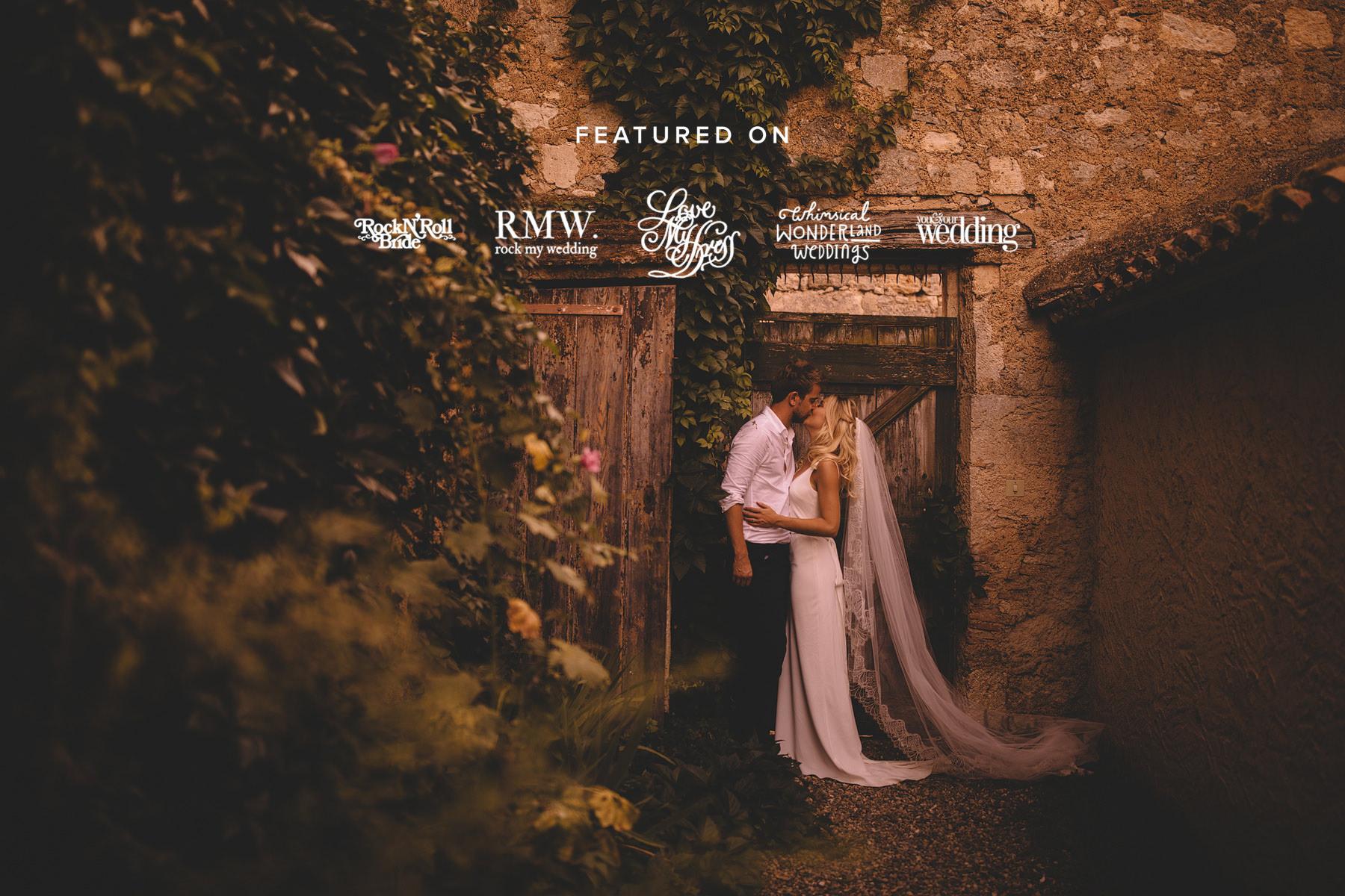 Castelnau des Fieumarcon, France Wedding Photographer